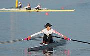 Amsterdam. NETHERLANDS.  Lightweight Women's Single Sculls USA LW1X<br /> Kate BERTKO  2014 FISA  World Rowing. Championships.  De Bosbaan Rowing Course . 07:58:04  Thursday  21/08/2014  [Mandatory Credit; Peter Spurrier/Intersport-images]