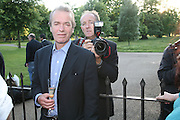 Martin Amis, Launch of Tina Brown's book 'The Diana Chronicles' hosted by Reuters. Serpentine Gallery. 18 June 2007.  -DO NOT ARCHIVE-© Copyright Photograph by Dafydd Jones. 248 Clapham Rd. London SW9 0PZ. Tel 0207 820 0771. www.dafjones.com.