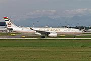 A6-AFE Etihad Airways Airbus A330-343 at Malpensa (MXP / LIMC), Milan, Italy