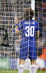 February 24, 2019 - London, England, United Kingdom - Chelsea's David Luiz missed his penalty.during during Carabao Cup Final between Chelsea and Manchester City at Wembley stadium , London, England on 24 Feb 2019. (Credit Image: © Action Foto Sport/NurPhoto via ZUMA Press)