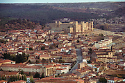 Town of Siguenza, Spain, dominated by its castle.