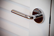 Chrome Lever Pantry Door Handle