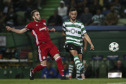 November 22, 2017 - Lisbon, Portugal - Sporting's midfielder Bruno Fernandes during the UEFA Champions League group D match between Sporting CP and Olympiacos FC at Alvalade Stadium on November 22, 2017 in Lisboa, Portugal. (Filipe Amorim / Nurphoto) (Credit Image: © Filipe Amorim/NurPhoto via ZUMA Press)