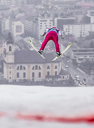 22.02.2019, Bergiselschanze, Innsbruck, AUT, FIS Weltmeisterschaften Ski Nordisch, Seefeld 2019, Nordische Kombination, Skisprung, im Bild Eric Frenzel (GER) // Eric Frenzel of Germany during the Ski Jumping competition for Nordic Combined of FIS Nordic Ski World Championships 2019. Bergiselschanze in Innsbruck, Austria on 2019/02/22. EXPA Pictures © 2019, PhotoCredit: EXPA/ JFK