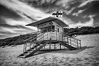 South Beach Tenby  RNLI Hut