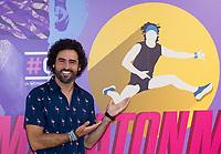"Spanish actor, Raul Gomez, during the presentation of ""Maraton Man"", a new tv program of Movistar+. May 25,2016. (ALTERPHOTOS/Rodrigo Jimenez)"