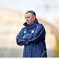 9 March 2008; Mike McNamara, Clare manager during the game. Allianz National Hurling League, Division 1B, Round 3, Limerick v Clare, Gaelic Grounds, Limerick. Picture credit: David Maher / SPORTSFILE