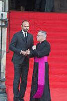 Edouard Philippe Obsèques de Jacques Chirac Lundi 30 Septembre 2019 église Saint Sulpice Paris