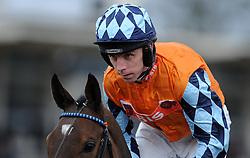 Jockey L Aspell  - Photo mandatory by-line: Harry Trump/JMP - Mobile: 07966 386802 - 09/03/15 - SPORT - Equestrian - Horse Racing - Taunton Racing - Taunton Racecourse, Somerset, England.