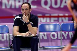09-01-2016 TUR: European Olympic Qualification Tournament Rusland - Nederland, Ankara<br /> De Nederlandse volleybalsters hebben de finale van het olympisch kwalificatietoernooi tegen Rusland verloren. Oranje boog met 3-1 voor de Europees kampioen (25-21, 22-25, 25-19, 25-20) / Eelco Beijl