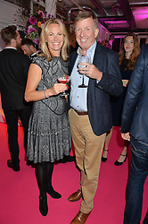 HERBERT & SIMONE BRENNINKMEIJER at Light Up Your Life - a party hosted by Lillingston held at Lights of Soho, 35 Brewer Street, London on 1st October 2015.