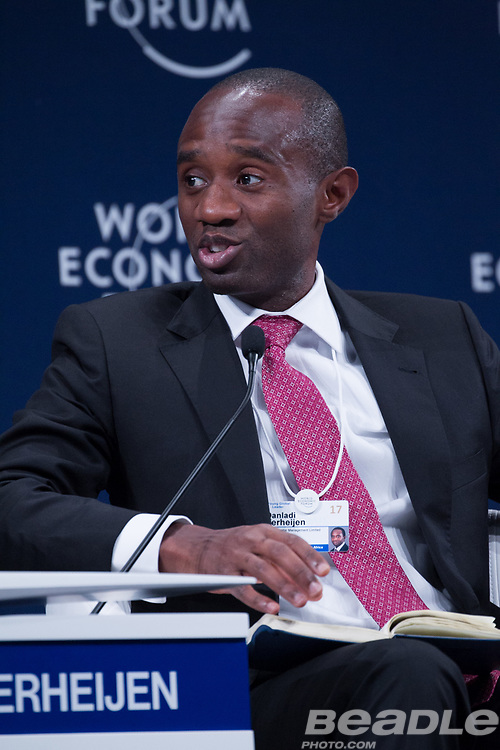 Danladi Verheijen, Co-Founder and Chief Executive Officer<br /> Verod Capital Management at the World Economic Forum on Africa 2017 in Durban, South Africa. Copyright by World Economic Forum / Greg Beadle