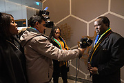 South Africa hosted a networking event at the Intercontinental hotel in Davos-Klosters, Switzerland, 21 January. Copyright by Greg Beadle