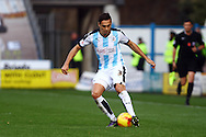 Jason Davidson of Huddersfield Town in action. Skybet football league Championship match, Huddersfield Town v Leeds United at the John Smith's Stadium in Huddersfield, Yorks on Saturday 7th November 2015.<br /> pic by Chris Stading, Andrew Orchard sports photography.