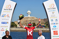 Podium, KRISTOFF Alexander (NOR) Katusha, during the 7th Tour of Oman 2016, Stage 6, The Wave Muscat - Matrah Corniche (130,5Km) on February 21, 2016 - Photo Tim de Waele / DPPI