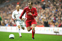 LIVERPOOL, ENGLAND - SUNDAY MARCH 27th 2005: Liverpool Legends' Paul Dalglish during the Tsunami Soccer Aid match at Anfield. (Pic by David Rawcliffe/Propaganda)