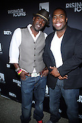 l to r: Derrin Woodhouse and Chauncy Hamlett at ' Rising Icons ' featuring The Dream presented by Grey Goose, Complex Magazine & BET held at The Hiro Ballroom on July 30, 2009 in New York City