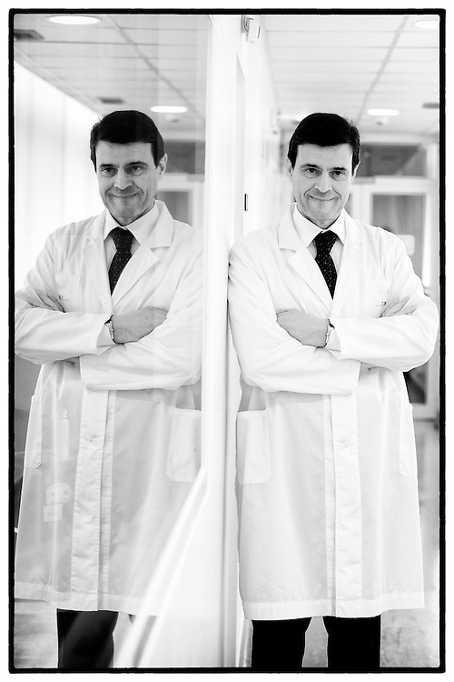 Luis Portela nos laboratorios da BIAL