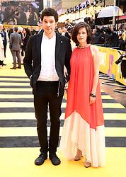 Joel Fry (left) and Kristina Aleksandrova attending the Yesterday UK Premiere held in London, UK.