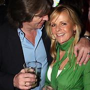 NLD/Amsterdam/20080407 - Launchparty platenmaatschappij 21st Century Music, Erik de Zwart en partner Marika van den Brink