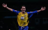 Photo: Steve Bond.<br />Notts County v Hereford United. Coca Cola League 2. 02/10/2007. Steve Guinan scores again