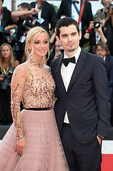 August 29, 2018 - Venice, Venetien, Italien - Olivia Hamilton and Damien Chazelle attending the 'First Man' premiere at the 75th Venice International Film Festival at the Palazzo del Cinema on August 29, 2018 in Venice, Italy. (Credit Image: © Future-Image via ZUMA Press)