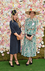 Left to right, FLORENCE BRUDENELL-BRUCE and the MARCHIONESS OF CHOLMONDELEY at day two of the Royal Ascot 2016 Racing Festival at Ascot Racecourse, Berkshire on 15th June 2016.