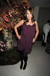 TAMARA ECCLESTONE at a reception before the launch of the English National Ballet Christmas season launch of The Nutcracker held at the St,Martins Lane Hotel, London on 5th December 2008.