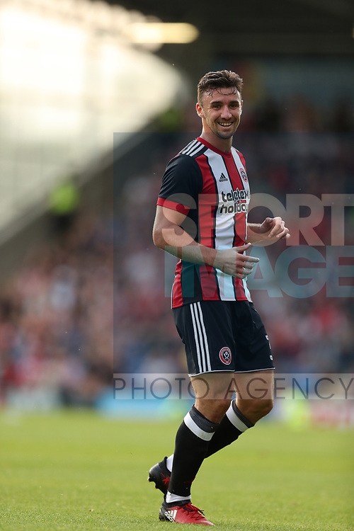 Enda Stevens of Sheffield United during the pre season friendly at the Procact Stadium, Chesterfield. Picture date: July 18th 2017. Picture credit should read: Lynne Cameron/Sportimage