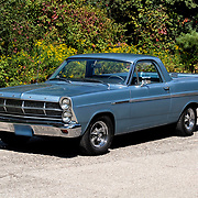 1967 Ford Ranchero on pavement