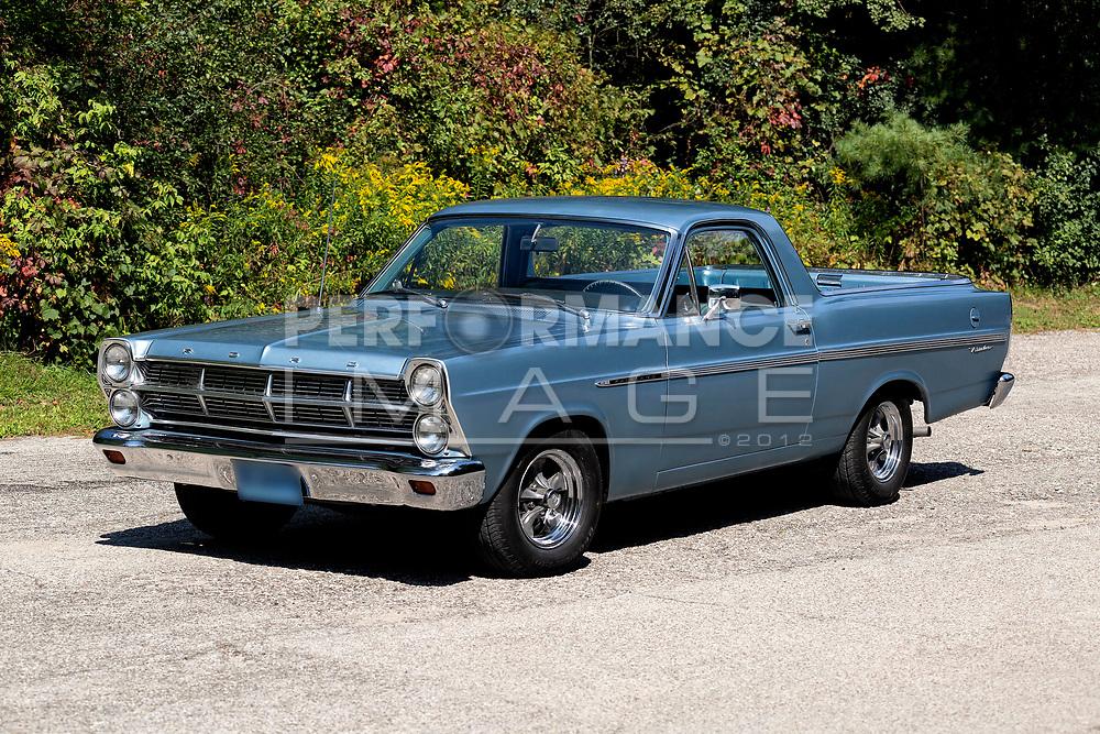 1967 Ford Ranchero on pavement