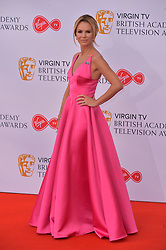 © Licensed to London News Pictures. 13/05/2018. London, UK. AMANDA HOLDEN arrives for the Virgin TV British Academy (BAFTA) Television Awards. Photo credit: Ray Tang/LNP