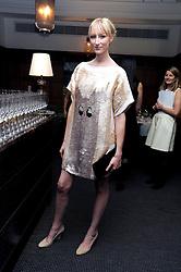 JADE PARFITT at Vogue's Celebation of Fashion dinner held at The Albermarle, Brown's Hotel, Albermarle Street, London on 18th September 2008.