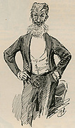 George Bernard Shaw (1856-1950) Irish dramatist, critic and Fabian in 1902.