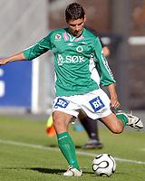Fotball NM Rosenborg - Mandalskameratene 1-0<br /> Toe Hansen, Mandalskameratene<br /> Foto. Carl-Erik Eriksson. Digitalsport