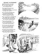 Reynard in Retirement (illustrated poem).