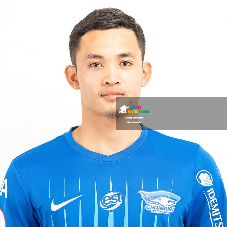 THAILAND - JUNE 11: Settawut Wongsai #79 of Chon Buri FC on June 11, 2019.<br /> .<br /> .<br /> .<br /> (Photo by: Naratip Golf Srisupab/SEALs Sports Images/MB Media Solutions)