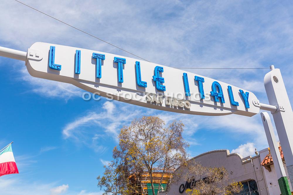 Little Italy Signage