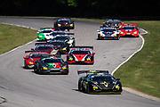 June 6, 2021. Lamborghini Super Trofeo, VIR: Start of race 2. 36 Matt Dicken, Change Racing, Lamborghini Charlotte , Lamborghini Huracan Super Trofeo EVO