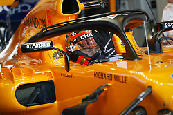 March 23, 2018 - Melbourne, Victoria, Australia - VANDOORNE Stoffel (bel), McLaren Renault MCL33, portrait  during 2018 Formula 1 championship at Melbourne, Australian Grand Prix, from March 22 To 25 - Photo  Motorsports: FIA Formula One World Championship 2018, Melbourne, Victoria : Motorsports: Formula 1 2018 Rolex  Australian Grand Prix, (Credit Image: © Hoch Zwei via ZUMA Wire)