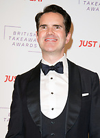 Jimmy Carr at The Fifth Annual British Takeaway Awards at The Savoy Hotel, London, UK <br /> 27/01/20