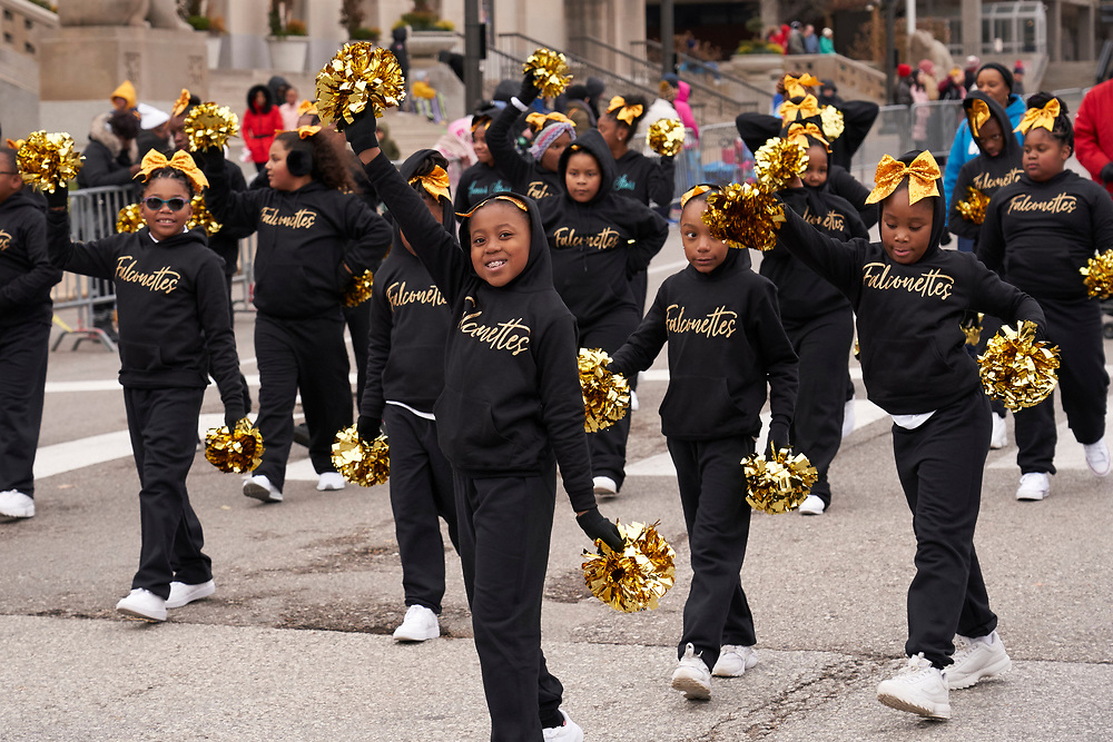 Thanksgiving Day Parade in St. Louis on November 28, 2019.