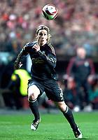 20100401: LISBON, PORTUGAL - SL Benfica vs Liverpool: Europa League 2009/2010 - Quarter-Finals - 1st leg. In picture: Fernando Torres. PHOTO: Carlos Rodrigues/CITYFILES