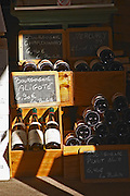 wine shop chalk board beaune cote de beaune burgundy france