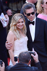Louane Emera and Benjamin Biolay arriving at Les Fantomes d'Ismael screening and opening ceremony held at the Palais Des Festivals in Cannes, France on May 17, 2017, as part of the 70th Cannes Film Festival. Photo by Aurore Marechal/ABACAPRESS.COM