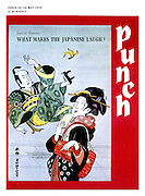 """Punch Front Cover - 20th May 1970 - """"What Makes the Japanese Laugh?"""""""