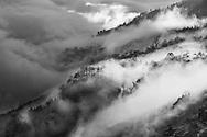 Vietnam Images-landscape-black and white-Sapa Hoàng thế Nhiệm Phong cảnh Sapa