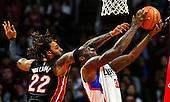 Basketball: 20170108 Los Angeles Clipper vs Miami Heat
