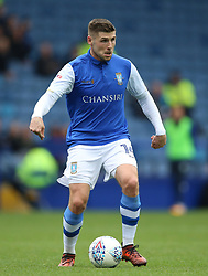 """Sheffield Wednesday's Gary Hooper during the Sky Bet Championship match at Hillsborough, Sheffield. PRESS ASSOCIATION Photo. Picture date: Sunday October 1, 2017. See PA story SOCCER Sheff Wed. Photo credit should read: Nigel French/PA Wire. RESTRICTIONS: EDITORIAL USE ONLY No use with unauthorised audio, video, data, fixture lists, club/league logos or """"live"""" services. Online in-match use limited to 75 images, no video emulation. No use in betting, games or single club/league/player publications."""