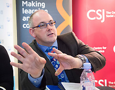 Centre for Social Justice Robert Halfon 5th Feb 2018